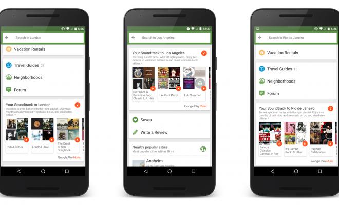 GooglePlay Music TripAdvisor