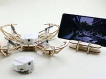 aerowood_modular_wooden_drone_with_hd_camera